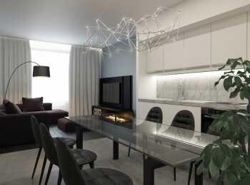Все апартаменты укомплектованы сантехникой и кухонной мебелью